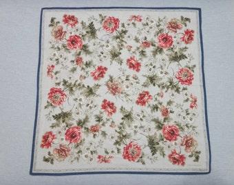 CARLO PALAZZO Floral Pattern Handkerchief M
