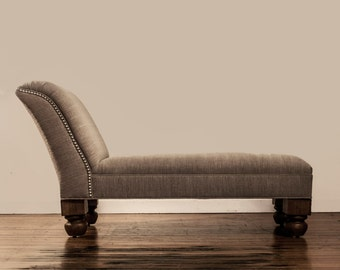Upholstered Chaise Longue *50% Deposit*