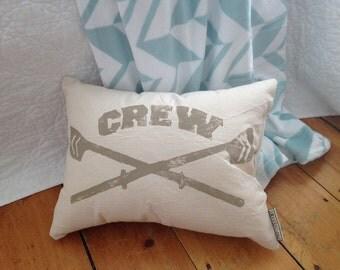 Crew Rowing Pillow - rowing pillow, rowing gift, rowing oar