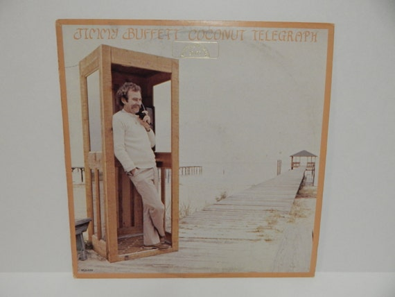 Jimmy Buffett Coconut Telegraph Vinyl Record Lp
