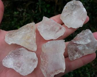 Quartz Crystal ~ 1 medium/large rough chunk crystal