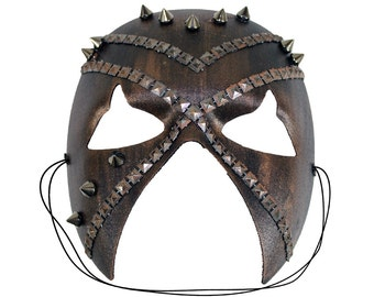 Battle Men's Steampunk Masquerade Mask -  A-2230-E