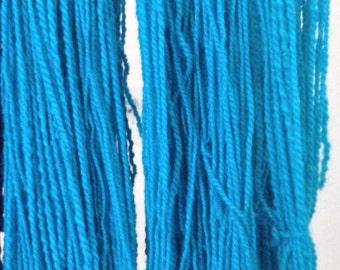 100% Alpaca Handspun and Hand Dyed Yarn