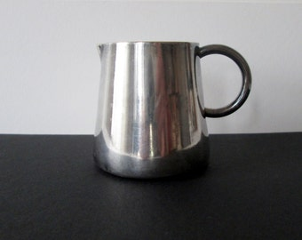 Michsah Silver Plate Creamer Made in Israel Vintage