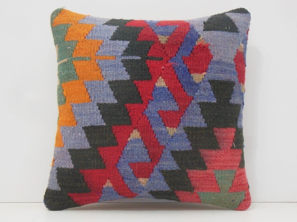 Throw Pillows With Matching Rug : tribal pillow 18x18 DECOLIC outdoor rug tropical throw pillows
