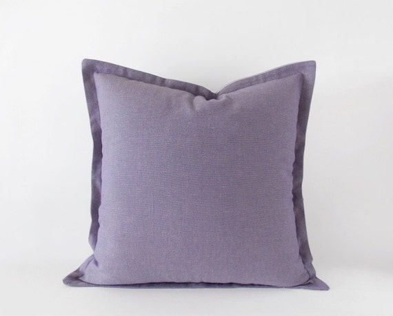 Lavender purple decorative pillow cover with a by EllensAlley - photo#30