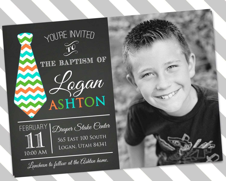 Free Lds Baptism Invitation Template - Best Custom Invitation Template | PS Carrillo