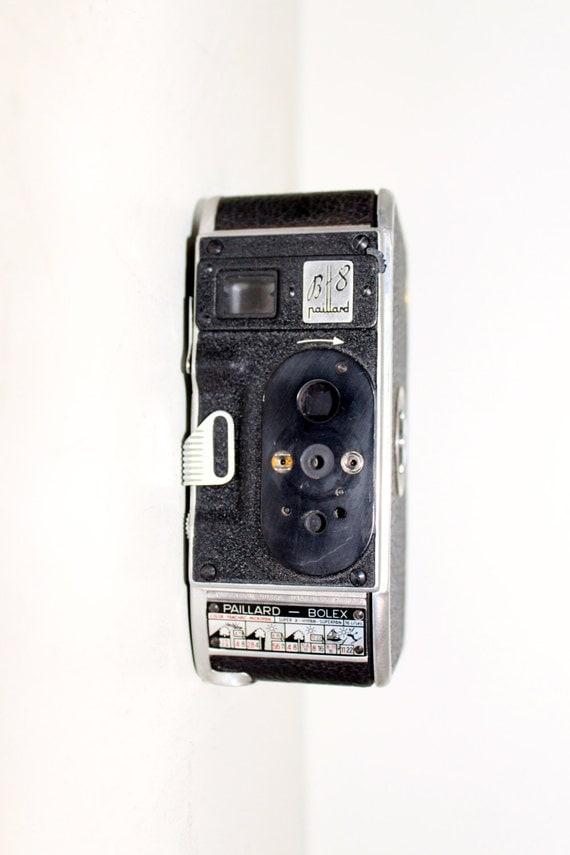 vintage bolex paillard b8 camera from jordanvintagecameras on etsy studio. Black Bedroom Furniture Sets. Home Design Ideas