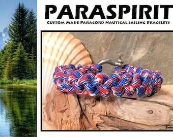 Camo Survival Paracord Bracelet