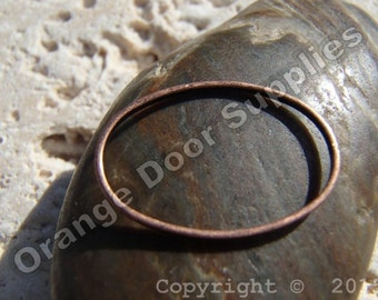 Copper Ring 19mmx13mm - 5 pcs (JBF 140)