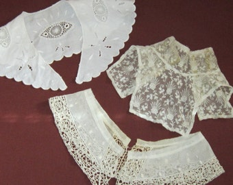 Vintage Grouping of Lace Collars