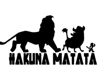 Lion King Decal Etsy