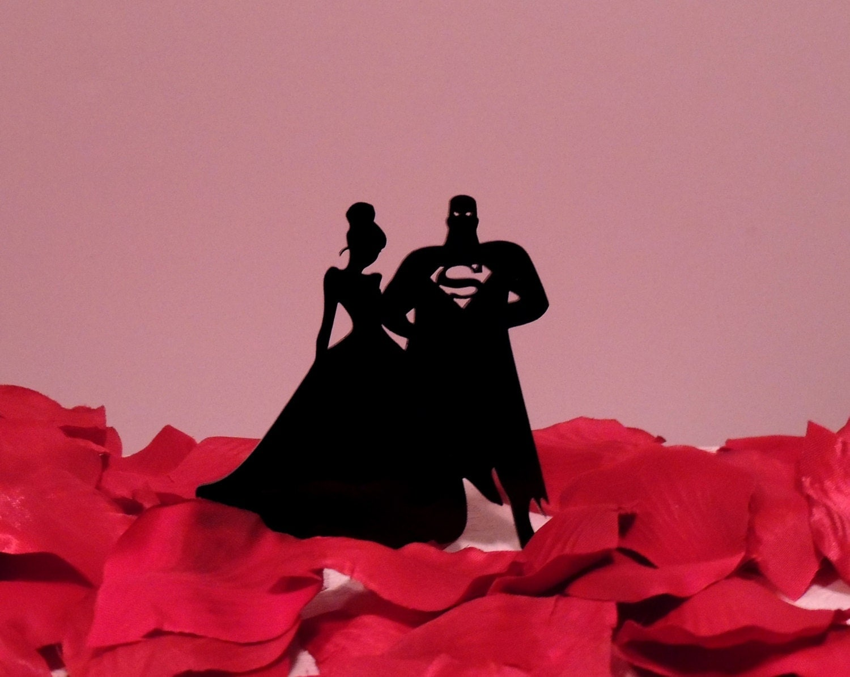 Superman wedding cake topper Lookup BeforeBuying