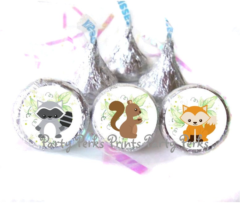 woodland animal baby shower favors squirrel by partyperksprints