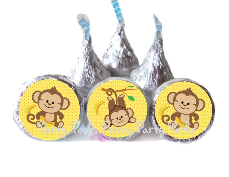 baby shower favors monkey safari party by partyperksprints on etsy