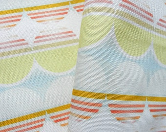Sunset Sunrise Geometric Cotton Fabric