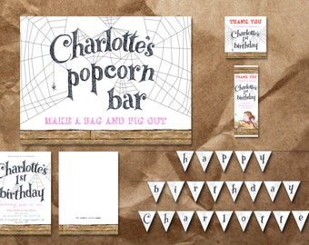 Charlotte's Web Party Package