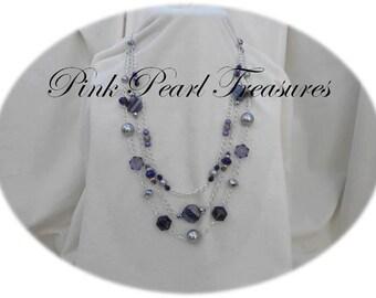 Lavender Lace necklace