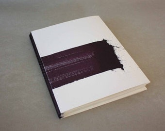 Notebook - sketchbook - lamellae binding