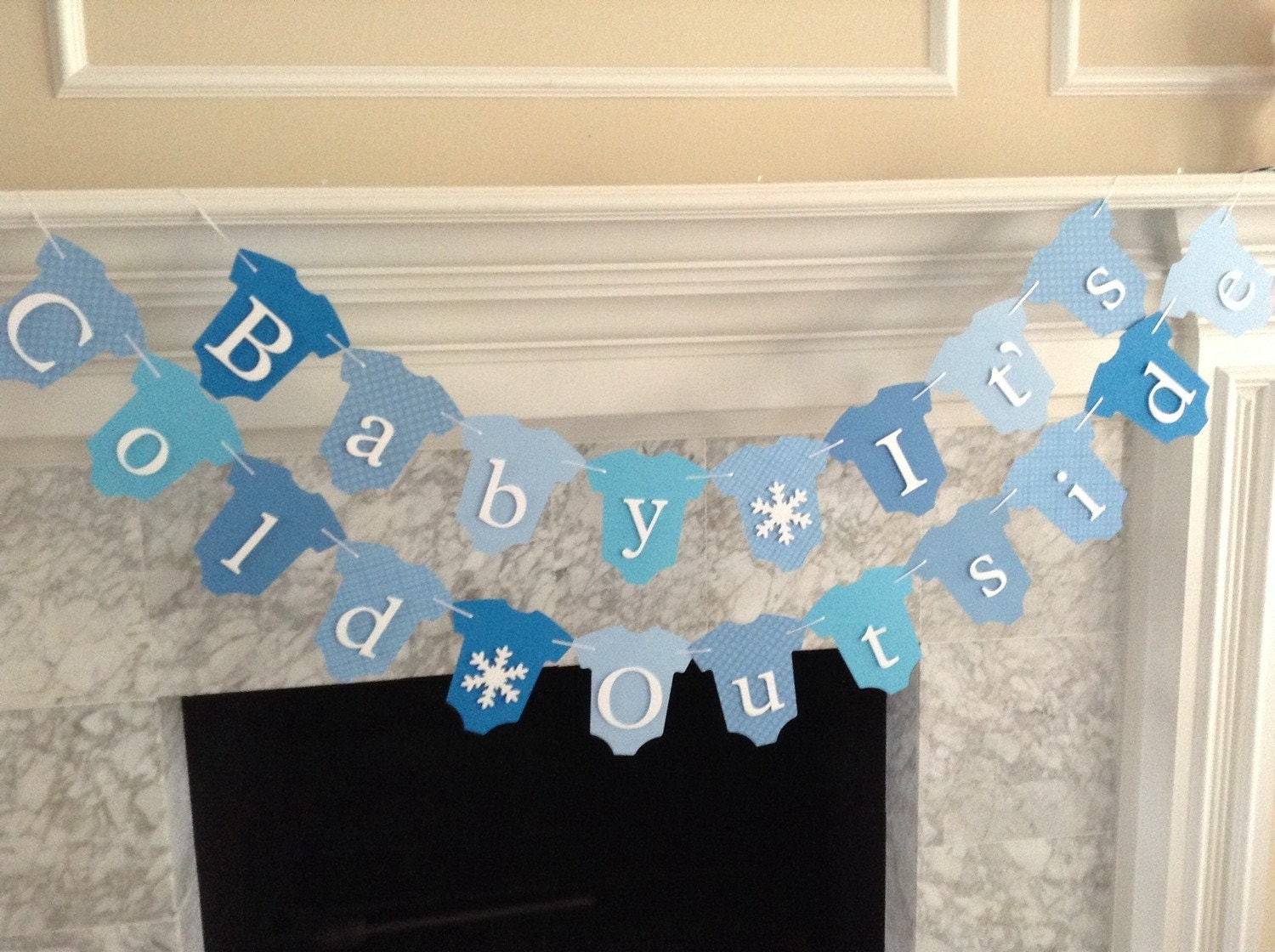 Baby It S Cold Outside Baby Shower Decor Winter Baby