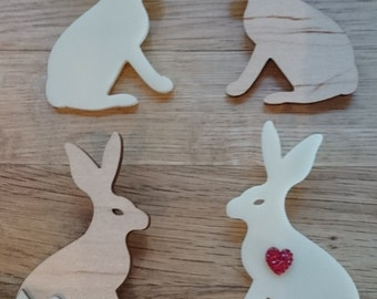Mr Hare Brooch