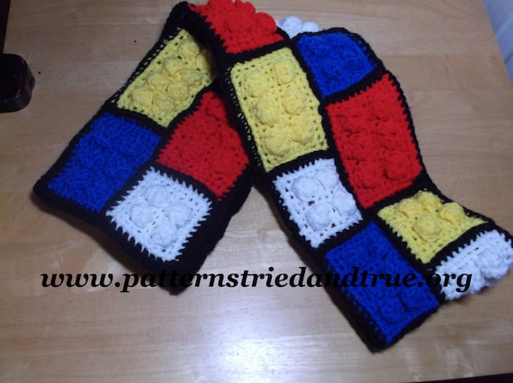 Crochet Lego Blanket : Crochet Lego Scarf, Lego Blanket, Lego Pillow, Lego Backpack, Sweater ...