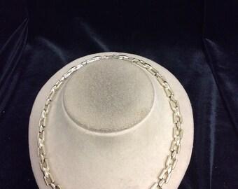 Vintage Goldtone Linked Necklace