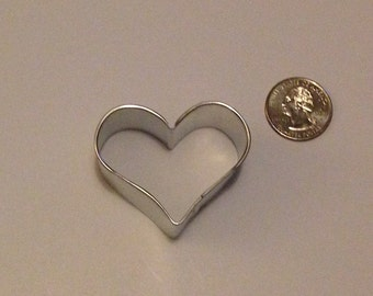 "2"" Mini Heart Cookie Cutter"
