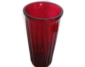 Vintage hoosier glass vase