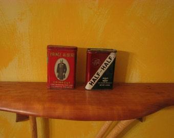 2 Vintage Tobacco Tins