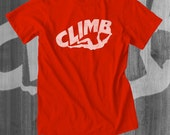 Rock Climbing Gear Rock Climbing Mountain Climbing Belay Approach Tshirt Bouldering T shirt Rock Climbing Gift Great Gift Idea Christmas