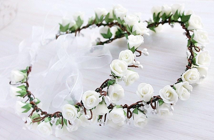 Flower Tiaras For Girls