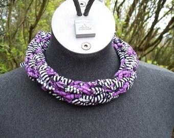 T Shirt Yarn Necklace
