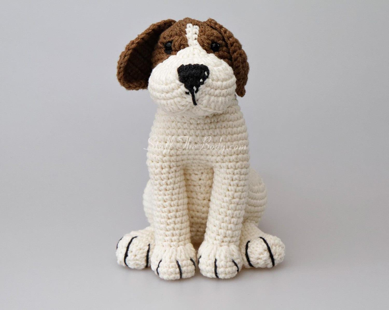 Crochet Amigurumi Dog : Azor the beagle dog amigurumi pattern puppy crochet