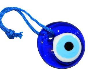4cm Lucky Evil Eye Nazar Boncuk Turkish / Greek Glass Eye Hanging