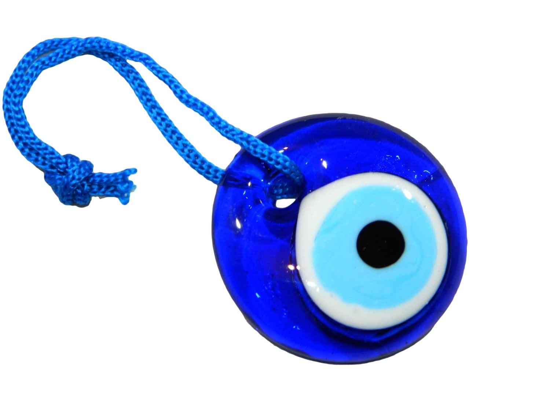 4cm Lucky Evil Eye Nazar Boncuk Turkish / Greek Glass Eye