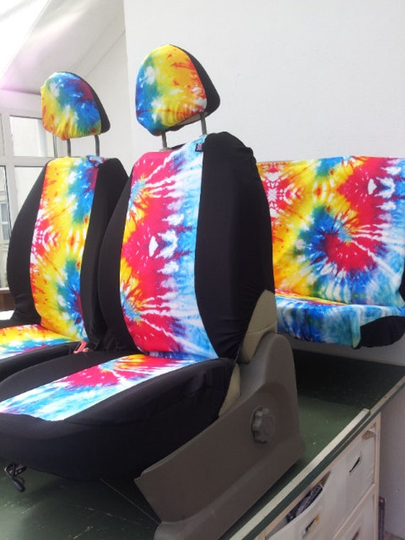 Set Of Car Seat Covers Front And Rear Covers Tye By