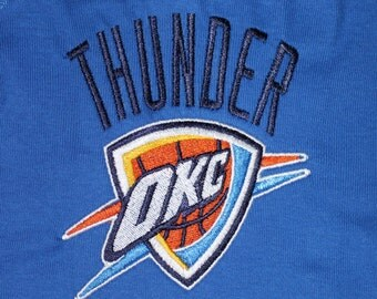 OKC Thunder Blue Bodysuit