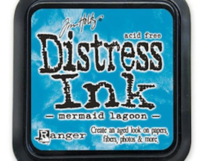 Tim Holtz Distress Ink Pad - MERMAID LAGOON March 2015