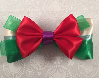 Ariel-The Little Mermaid Inspired Bow