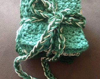 Washcloth, Dishcloth -  gift set, custom colors