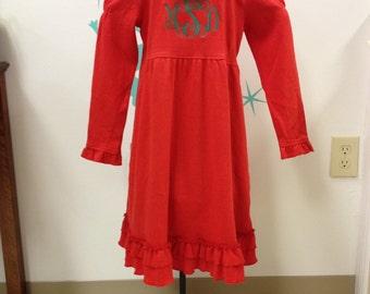 Mongramed Dress