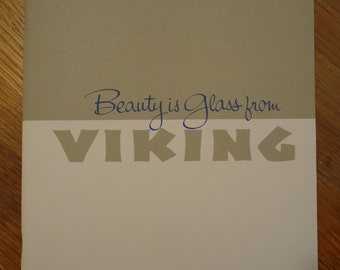 1967 Viking Glass Book  -  (Beauty is Glass from Viking)