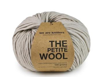 100% Petite Peruvian Wool - Pearl Grey