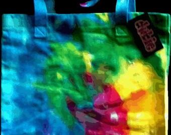 Spiral Tie Dye American Apparel Tote Bag