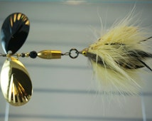 Coffee & Cream FlyStyle Muskie Bucktail