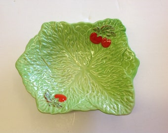 Vintage BESWICK WARE salad dish from 1940s