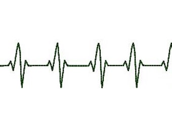 Heartbeat Line Clipart Black And White Heart pulse line ...
