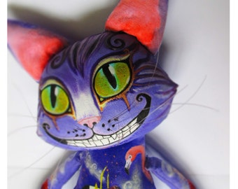 Cheshire cat- FREE SHIPPING
