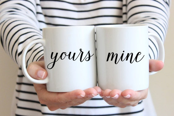 Cute couple mugs